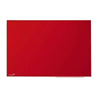Glasboard Legamaster Colour 7-104735, B 400 x H 600 mm, rot, magnetisch