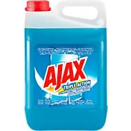 Glasreiniger AJAX 3-fach aktiv, blau, 5 l in Kanister