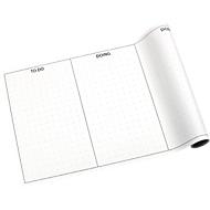 Global Notes Kanban-board, 8 planken per rol, L 300 x B 508 mm, incl. plakbriefjes.
