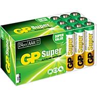 GP Batterien Multipack, 24 x Mignon AAA, 1,5 V