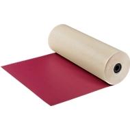 Grand rouleau de papier cadeau, rouge/ivoire
