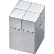 Grands aimants-cubes design, 20 x 20 x 30 mm