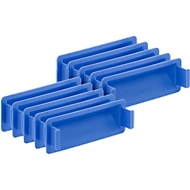 Griffverschluss für Kasten im EURO-Maß, blau, 10 Stück