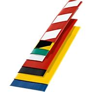 Grond-markeringstape, b 75 mm, l 50 m, geel