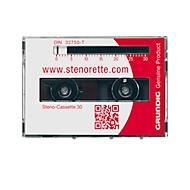 GRUNDIG Steno-Kassetten 30, 5 Stück