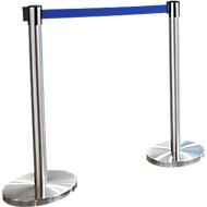 Gurtpfosten RS-Guideline GLA 55, Gurtfabe blau, 2er-Set, B 50 mm
