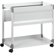 Hängemappenwagen System File Trolley 80 A4, grau