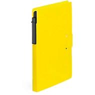 Haftnotizbuch, 70 Seiten, 25 Haftnotizen 76 x 76 mm, gelb