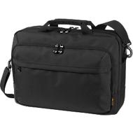 HALFAR Business-Tasche Mission, mit Tragegriff, mit Laptopfach, Nylon, schwarz
