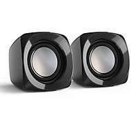 Hama PC-Lautsprecher Sonic Mobil, 2.0 Stereo-Lautsprecher, 3,5 mm Klinkenstecker