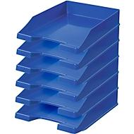 HAN Ablagekorb, DIN C4, Kunststoff, 6 Stück, blau