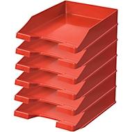 HAN Ablagekorb, DIN C4, Kunststoff, 6 Stück, rot