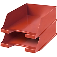 HAN Ablagekorb XXL, Kunststoff, 2 Stück, rot