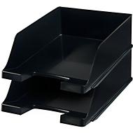 HAN Ablagekorb XXL, Kunststoff, 2 Stück, schwarz