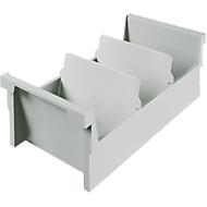 HAN Einsatz-/Einhängetrog, Kunststoff, A6 quer, grau