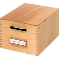 HAN Karteikasten, Holz, DIN A6, 500-900 Karten