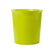 HAN Papierkorb Loop, 13 Liter, modernes Design in Trend Colour, lemon