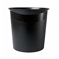 HAN Papierkorb Loop, 13 Liter, modernes Design, schwarz