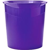 HAN prullenbak Loop, 13 liter, Modern design in Trend Colour, lila