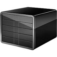 HAN Schubladenbox i-Line, 5 Schübe, Kunststoff, schwarz