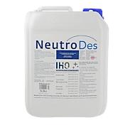 Handdesinfectiemiddel NeutroDes, tegen virussen, bacteriën & schimmels, oppervlakte-actief, IHO-lijst, kleurloos, 5 l