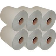 Handdoek-rol, 1-laags, 280 m, RC, 200 mm breed, 6 rollen