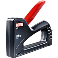 Handnietmachine Novus J 11, zwart, ABS-kunststof omhulsel, nietjestype A