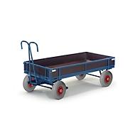 Handpritschenwagen, mit Bordwänden, Luftreifen, 960x660