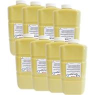 Handreiniger CWS Abrasiva Standard, voor industriële dispenser CWS-Jumbo, mosterdgeel, 8 x 2000 ml