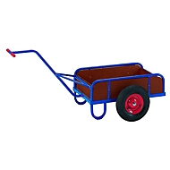 Handvrachtwagen met zijplaten, 1-assig, 790 x 435 mm, 1-as, 790 x 435 mm