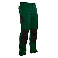 Handwerker Bundhose Jobman 2321 PRACTICAL, mit Kniepolstertaschen, forest grün I schwarz, Gr.50
