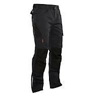 Handwerker Bundhose Jobman 2321 PRACTICAL, mit Kniepolstertaschen, schwarz I schwarz, Gr.54