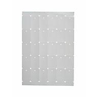 Hang bordje met ponsgat, 35x53 mm, 3000 platen, 3000 platen