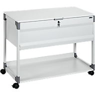 Hangmappenwagen System File Trolley 100 Multi Top, grijs