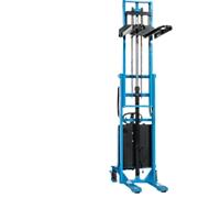 HanseLifter® elektrische breedspoorstapelaar E-SDJ1025BS, hefbereik 80 - 2500 mm