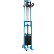 HanseLifter® elektrische breedspoorstapelaar E-SDJ1030BS, hefbereik 80 - 3000 mm
