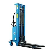 HanseLifter® elektrische breedspoorstapelaar E-SDJ1530BS, hefbereik 80 - 3000 mm