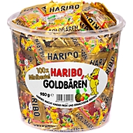 HARIBO goudberen, Minizakjes, 100 stuks