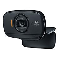 HD Webcam Logitech® C525, 1280 x 720 pixels, autofocus, 360°-rotatie, universele houder, zwart