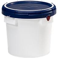 HDPE-vat, zonder deksel, 15 liter