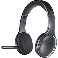 Headset Bluetooth Wireless H 800 Logitech, binaural, bereik tot 12 m, batterij tot 6 uur, USB-nano-ontvanger, zwart