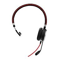 Headset Jabra Evolve 40, kabelgebunden, USB 2.0/3.0/3,5 mm Jack, passive Noise-Unterdrück., Busylight, monaural