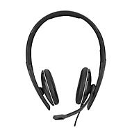 Headset Sennheiser SC 165 USB, stereogeluid, met klinkstekker, UC-geoptimaliseerd