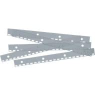 Hechtstroken ibiStrip, van PVC, A4, kleurloos