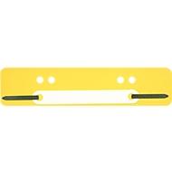 Heftstreifen, PP, gelb, DIN A5, PP-Deckleiste