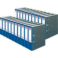 herlitz ordner maX.file nature, A4, rugbreedte 80 mm, 20 stuks, blauw