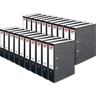 herlitz ordner maX.file nature, A4, rugbreedte 80 mm, 20 stuks, zwart