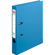 herlitz ordner maX.file protect plus, A4, rugbreedte 50 mm, 10 stuks, lichtblauw