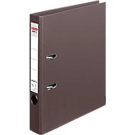 herlitz Ordner maX.file protect plus, DIN A4, Rückenbreite 50 mm, 10 Stück, braun