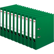 herlitz Ordner maX.file protect plus, DIN A4, Rückenbreite 50 mm, 10 Stück, grün